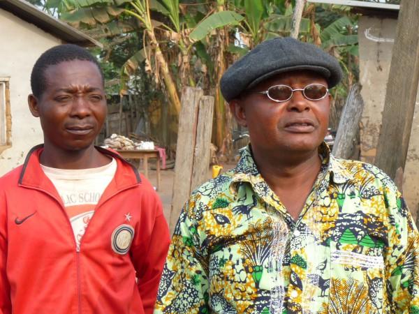 11 The traditional chief of Manzadi village