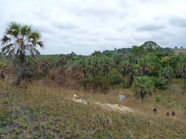 13 The valley of Manzadi that Edmond Dartevelle explored in 1937