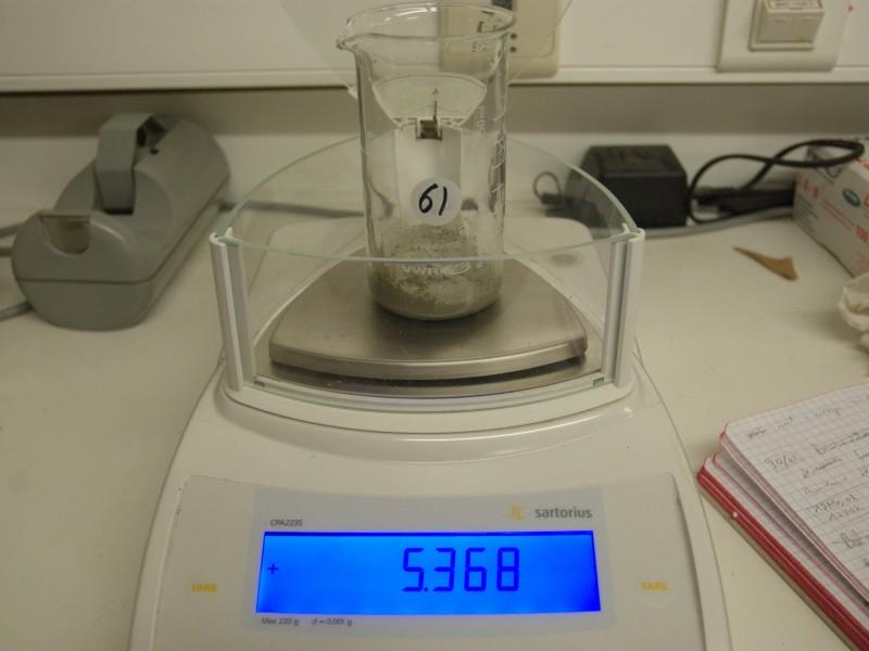 04 Sample weighing