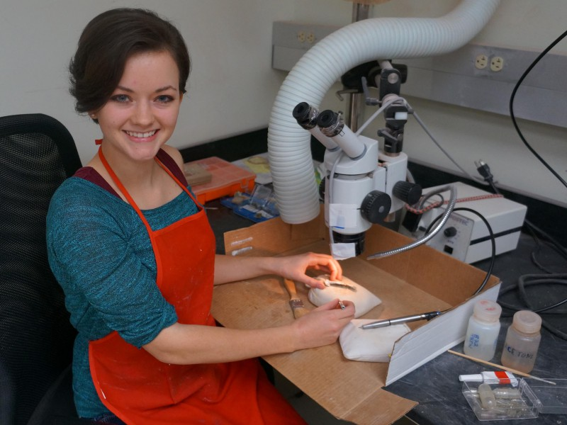 09 Fossil Preparation Technician Karie Whitman
