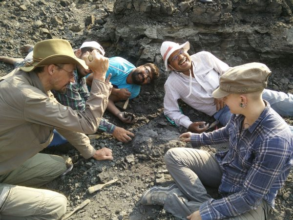 11 Battle to find the last fossils in the ending sediment of the lens