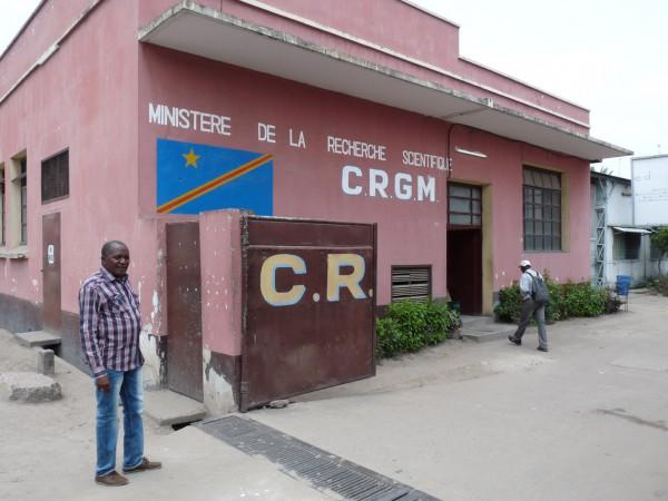 01 Visit of the CRGM (Centre de Recherche Géologique et Minière, Kinshasa)