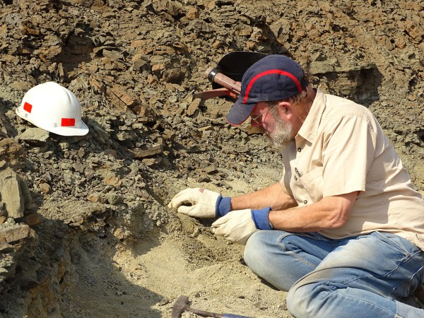 03 Ken Rose (Johns Hopkins Univ.) has located a fossil layer